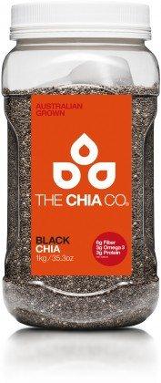 The Chia Co ブラック チアシード 1kg