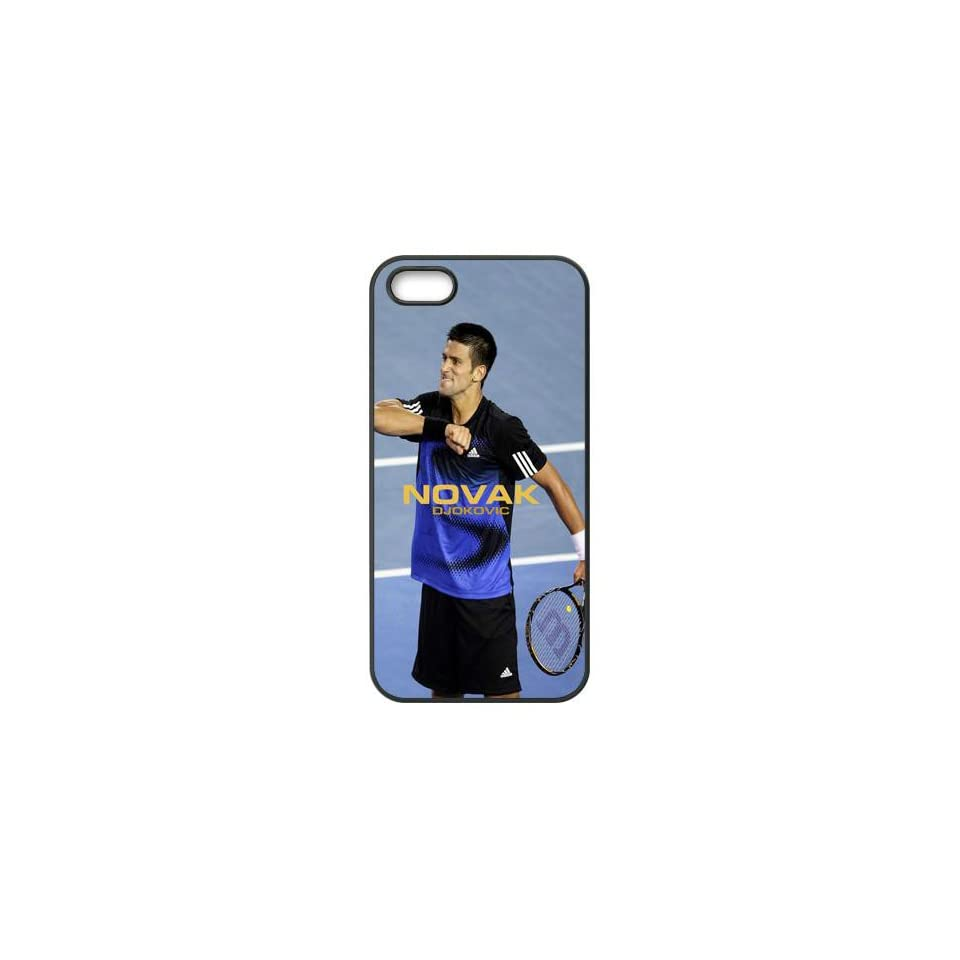 Seller Online Unique Design World Tennis Star Novak Djokovic TPU Protection Cover For Iphone 5 Case