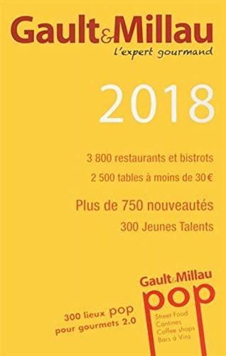 Gault & Millau Guide France 2018 - 3800 restaurants  [Gault Millau] (Tapa Blanda)