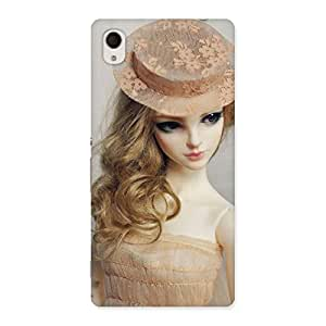 Unicovers Royal Doll Back Case Cover for Sony Xperia M4