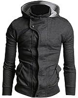 mince vêtements de plein air capuche hoodies sweat-shirt à capuche top des nouveaux hommes à capuche manteau de veste