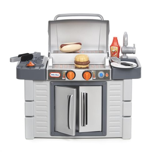 Little Tikes Kitchen Cook 'n Grow BBQ Grill Playset Toy Toddler Pretend Play Kid (Toy Kitchen Grill compare prices)