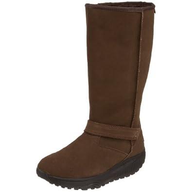 Skechers Womens Shape Ups XF-Avalanche Boot,Chocolate,9.5 M US