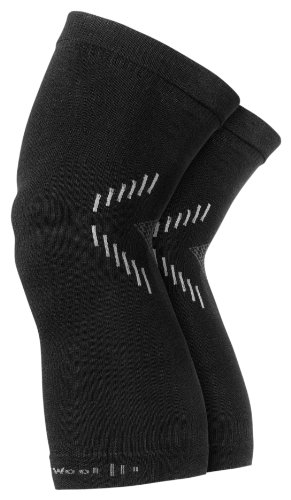 Buy Low Price Smartwool Knee Warmers Black S/M (SC602-001)