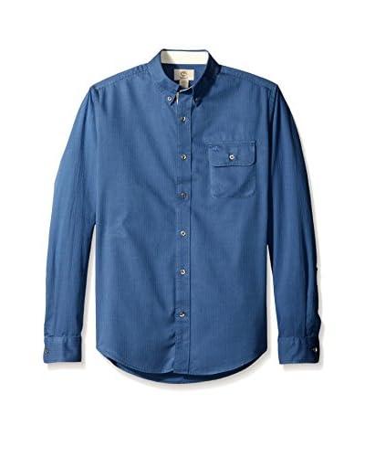 Timberland Men's TFO Long Sleeve Birch River Herringbone Shirt