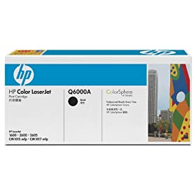 HP Q6000A Color Laserjet 2600N Cartuccia laser