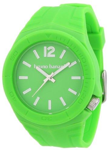 Bruno Banani - BR21055 - Montre Mixte - Quartz Analogique - Bracelet Plastique Vert