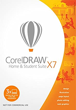 CorelDRAW Home & Student Suite X7 [Download]