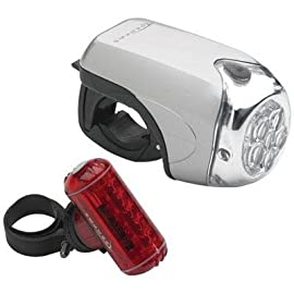 Serfas Combo Bicycle Headlight & Taillight Set - CP-1000