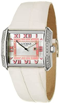 Locman Glamour Otto Women's Quartz Watch 232MOPPKD--WH-AL