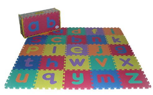 Picture of Soft & Safe Foam Alphabet Floor Mat(lowercase) (B000Z0CZ12) (Puzzle Play Mats)