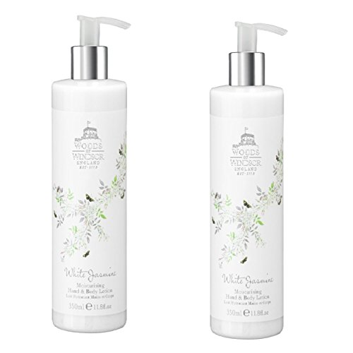 Woods Of Windsor White Jasmine Body Lotion 11.88 oz (Set of 2) (Woods Of Windsor White Jasmine compare prices)