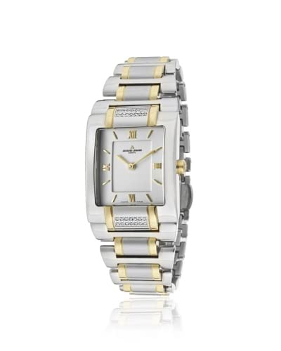 Jacques Lemans Women's GU117J Gloria Silver/Gold/White Stainless Steel Watch As You See