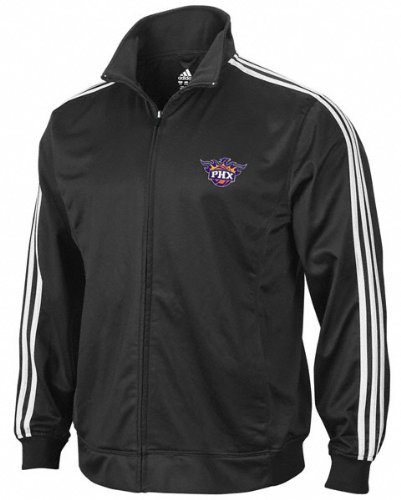 Phoenix Suns Full Color Logo 3-Stripe Full-Zip Track Jacket