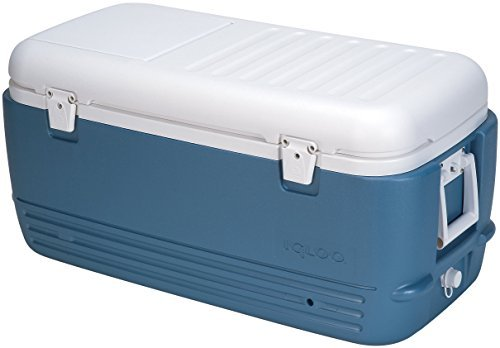 Igloo MaxCold Cooler (100-Quart, Icy Blue) by Igloo (Igloo Icy Cooler compare prices)