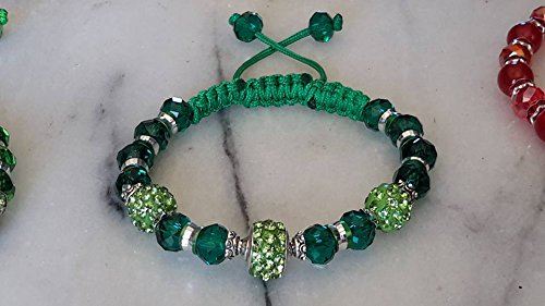 fabulous-green-bracelet-sparkle-with-green-cz-shamballa-disco-ball-charm-and-beads-with-dk-gree-cut-