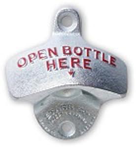 starr wall mounted bottle opener wall mounted bottle opener kitchen dining. Black Bedroom Furniture Sets. Home Design Ideas