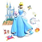 Wallables 3d Wall Decor With Bonus Decals, Cinderella From Disney Princesses