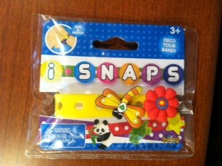 I * SNAPS CHARM BRACELET (VARIES COLORS & VARIES CHARMS) - 1