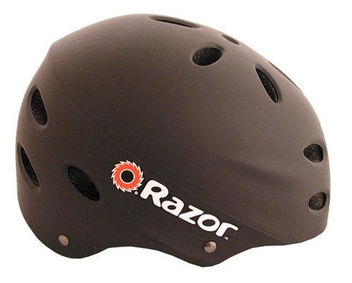 Razor V-17 Youth Multi-Sport Helmet (Black Matte)