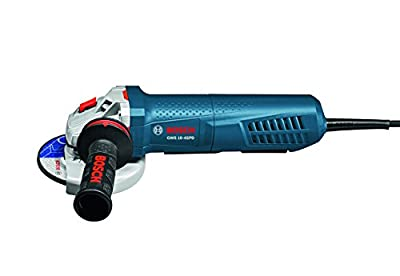"""Bosch GWS10-45PD Angle Grinder with No-Lock-On Paddle Switch, 4-1/2"""""""