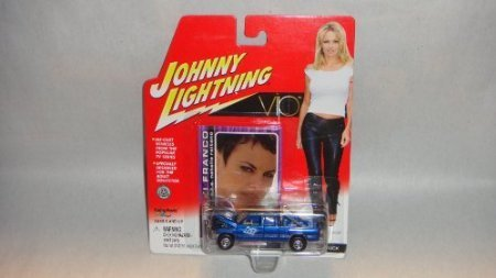 JOHNNY LIGHTNING 1:64 SCALE VIP NIKKI'S 1996 DODGE RAM TRUCK, JOHNNY LIGHTNING NIKKI FRANCO VIP TV SERIES DODGE TRUCK DIE-CAST COLLECTIBLE