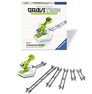 Marble Run /& STEM Toy for Boys /& Girls Age 8 /& Up Accessory for 2019 Toy of The Year Finalist Gravitrax Ravensburger Gravitrax Scoop Accessory