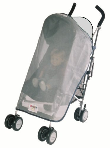 Sashas Sun, Wind and Insect Cover for MiaModa Facile and Sportivo Single Stroller