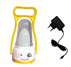 Sahi Moon Light ( Yellow ) emergency light with charger