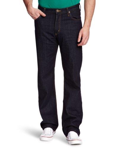 Lee - Brooklyn Comfort One Wash, Straight da uomo, Blu (One Wash), 46 IT (W33/L32)