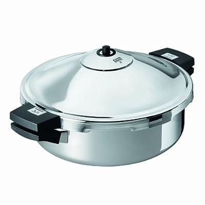 Kuhn Rikon Duromatic Family Style Pressure Cooker Braiser 5 Quart