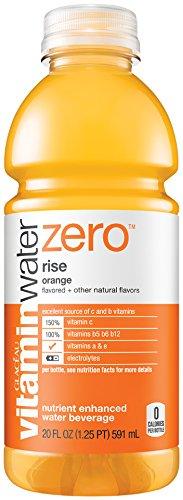 vitaminwater zero rise orange, 20 FL OZ Bottle