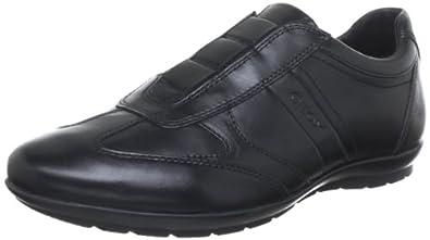 Geox U SYMBOL, Herren Sneakers, Schwarz (C9999BLACK), 39 EU