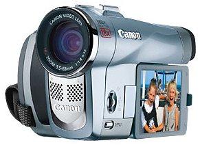 Canon Elura 80 MiniDV Camcorder w/18x Optical Zoom