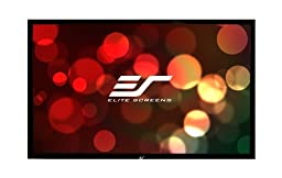 Elite Screens ezFrame Series, 100-inch Diagonal 16:9, Polarized 3D Fixed Frame Home Theater Projection Screen, Model: R100DH1