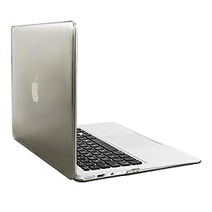 kwmobile® Elegantes und leichtes 2-Part Crystal Case für Apple MacBook Air 13'' in Grau