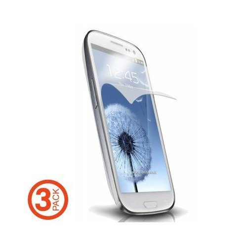 Samsung Galaxy S3 i9300 Screen Protector (Anti-Glare Anti-Fingerprint) 3 pack