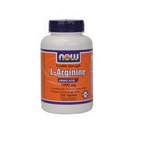 NOW Foods L-Arginine 1000mg, 120
