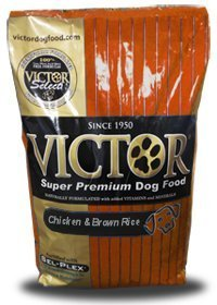 Victor Dog Food Select Chicken Meal and Brown Rice with Lamb Meal, 20-Pound