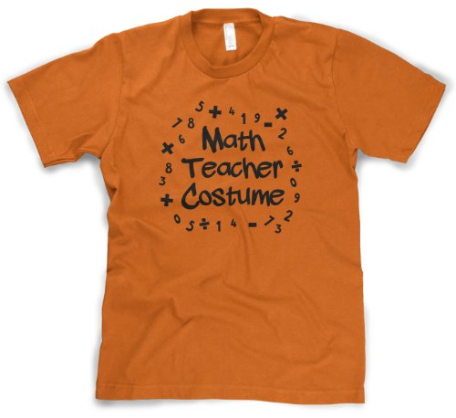 Math Teacher Halloween Costume T Shirt Funny Halloween Tee
