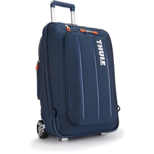 Thule Crossover 38-Litre Rolling Carry-On Suit Case (Dark Blue) (Carry On Thule compare prices)