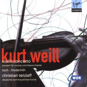 Concerto pour violon et orchestre d'instruments à vent