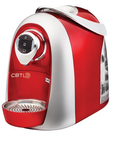 CBTL Kaldi S04 Single Cup Brewer, Red