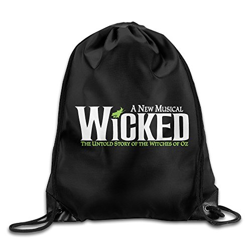 [AegeanSea WICKED Logo Leisure Travel Bag] (Wicked Witch Of The West Costume Disney)