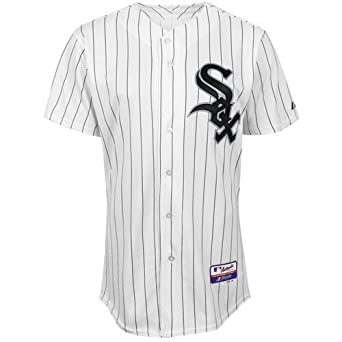 MLB Chicago White Sox Six Button Cool Base Authentic Home Jersey Mens by Majestic