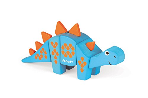 Janod-J08229-Animal-Kit-Stegosaurus-Bois