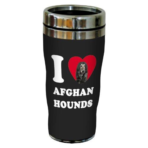 afghan hound gifts - travel mug