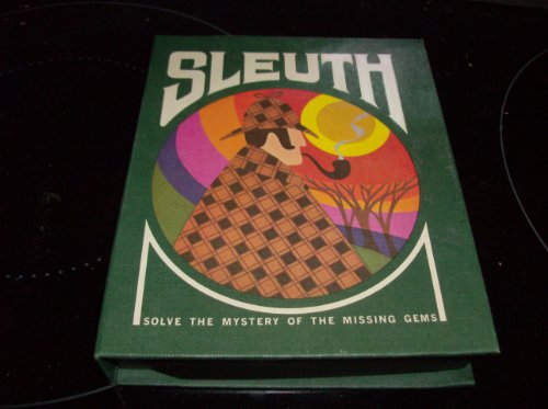 Vintage 1971 Sleuth Gamette By 3M Solve the Mystery of the Missing Gems - 1