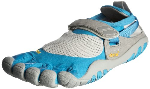 Vibram© Vibram© FiveFingers Women's Treksport Blue/Grey Trainer 5F/W4456Bg-38 5.5 UK