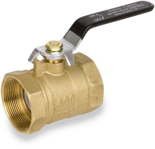 Brass Lever Valve : Smith cooper international series brass ball valve